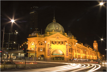 Flinders Station @ Night